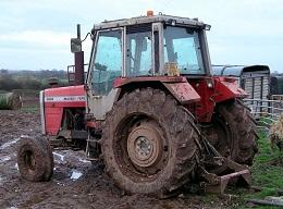 Diesel fuel bug for tractors